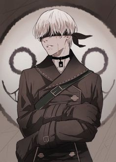 Find images and videos about art, anime and manga on We Heart It - the app to get lost in what you love. Anime Boys, Manga Anime, Nier Characters, Fantasy Characters, Drakengard Nier, Character Art, Character Design, Fanart, Kawaii
