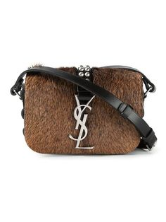2dcff9a01c94 Shop Saint Laurent 'Monogramme' crossbody bag in Stefania Mode from the  world's best independent