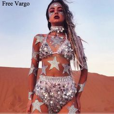7ded1b0f vibes, girls, grunge, aesthetic, art, inspiration, glitter, holographic,  burning man, festival inspiration