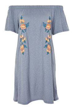 810148ef1f15 Embroidered Bardot Dress Bardot Kleid
