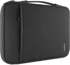 """Belkin - 13"""" Notebook/Chromebook Sleeve (Black)"""