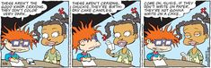 Classic Rugrats Comic Strip for May 12, 2021 | NickelodeonWatch classic Rugrats on Paramount+!The all new CG-animated Rugrats series premieres Thursday, May 27, exclusively on Paramount+!More Nick: Nickelodeon Taps All-Star Voice Talent Lineup for Iconic Grown-Up Roles in Brand-New Rugrats, Debuting Spring 2021 on Paramount+!Rugrats, provided to Creators Syndicate by Nickelodeon, based off the popular animated television series has been created for children and family's to laugh and enjoy t