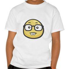 Emoji: Geek Face Tshirt