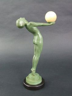 Sheryls Art Deco Emporium - Female Spelter Figures