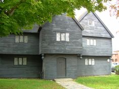The Witch House (aka The Jonathan Corwin House) – Salem, Massachusetts. Built in 1675, this is the home of Witch Trial Judge Jonathan Corwin—the only original house standing from a main historical figure of that frightening year, 1692.