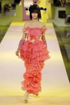 Christian Lacroix Spring 2007 Couture Collection Photos - Vogue