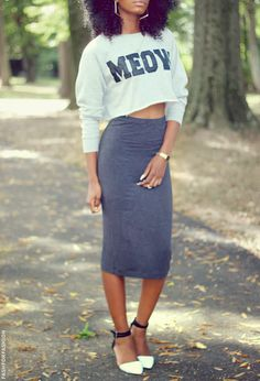 fashforfashion -♛ STYLE INSPIRATIONS♛: midi