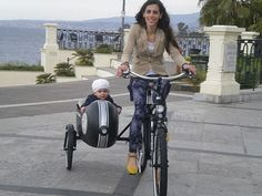 Electric sidecar bicycle