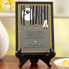 Halloween Party Invitation - so cute! it's a free printable! More fun printables here: http://www.bhg.com/halloween/parties/fun-halloween-party-printables-party-ideas/