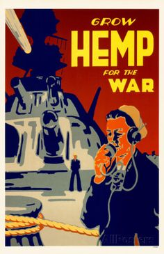 Grow Hemp For The War Masterprint sur AllPosters.fr