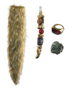 pirate gypsy earring fancy dress accessory captain hook jack sparrow