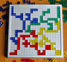 Blokus game helps executive functioning in kids.