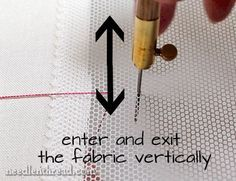 Tambour Embroidery How-To Video: Basic Chain Stitch