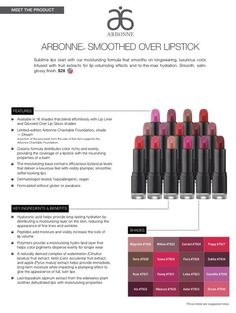 Smoother Over Lipstick goes on like chapstick, so pretty! My personal fav is Hibiscus! Contact me for more info! http://CydneyDarr.arbonne.com/ Consultant ID 117162022 PURE, SAFE & BENEFICIAL
