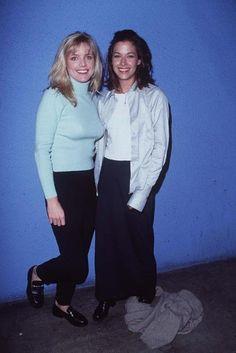 Courtney Thorne-Smith and Brooke Langton