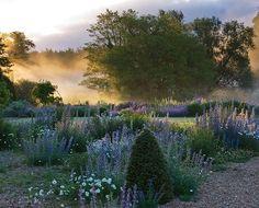 Dawn light on Narborough Hall - Norfolk