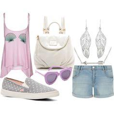 """Summer Fashion Sneaker - DSW"" by fashboulevard on Polyvore #DSWShoeHookup #PinToWin"