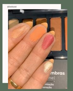 Novas paletas da Tracta. Maraviosaaas! #tracta #maquiagem #belezei Beauty Products, Convenience Store, Nails, Pallets, Convinience Store, Finger Nails, Cosmetics, Ongles, Nail