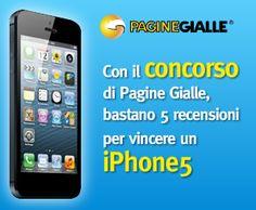 Pagine Gialle – Scrivi e vinci un iPhone5!