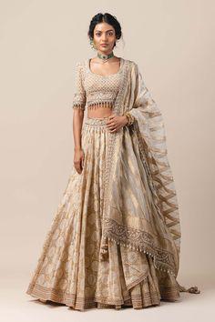 Lehenga Saree Design, Lehenga Designs, Choli Designs, Indian Wedding Outfits, Indian Outfits, Tarun Tahiliani, Indian Fashion Dresses, Indian Designer Wear, Indian Wear