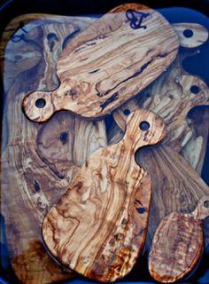 Andrea Brugi's artful cutting boards.