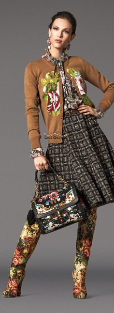 Dolce & Gabbana Baroque Collection FW 2012 http://www.dolcegabbana.com/