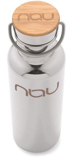 Nau Klean Kanteen Aluminum Water Bottle. ($38)