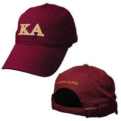 8144519e The classic Kappa Alpha Order look and lightweight feel make this an  instant favorite. Theres an adjustable strap in back with the Kappa Alpha  Order name ...