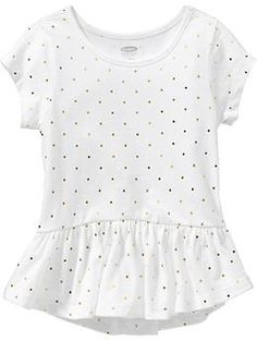 Jersey Peplum-Hem Tees for Baby | Old Navy