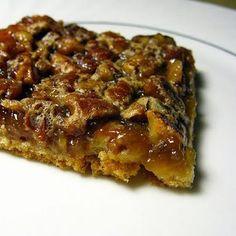 Crescent Pecan Pie Squares  Crust