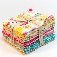 Fancy Free Fabric Fat Quarter Bundle  from by 44thStreetFabric, $54.00