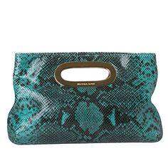MICHAEL Michael Kors Berkley Clutch - Overstock™ Shopping - Big Discounts on MICHAEL Michael Kors Designer Handbags