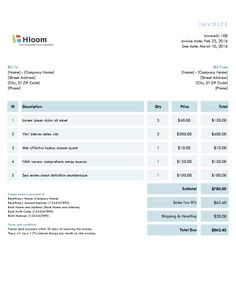 Travel Invoice Format  Another Perspective    Invoice