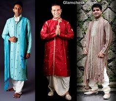 (the impressive host)   traditional fashion men indian festival durga puja 2012