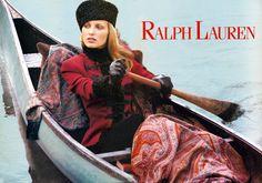 Ralph Lauren Russian Collection 1993, model: Agnieszka Kotlarska