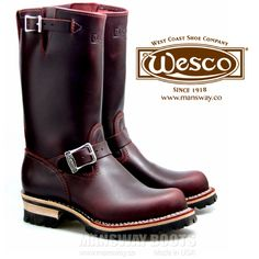 WESCO 客製 BGD ENGINEER BOOTS 生產完畢, 即將發貨。WESCO BOOTS 訂購連接 - http://mansway.co/customized-order/we