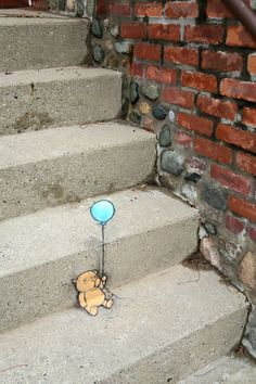 "David Zinn - Walter followed the instructions and waited for the ""whee!"" to set in."