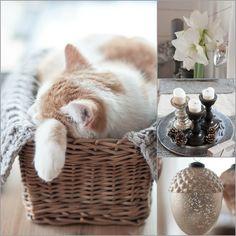 Herzenswärme Laundry Basket, Wicker, Inspiration, Home Decor, Heart, Cats, Biblical Inspiration, Decoration Home, Room Decor