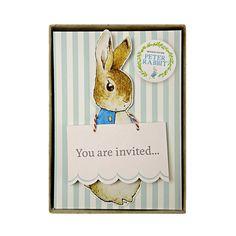 Meri Meri Peter Rabbit Invitations - Le Petite Putti - Putti Fine Furnishings