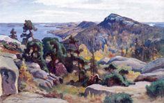 """""""Koli"""" 1927, Eero Jarnefelt (1863–1937) Chur, Landscape Art, Landscape Paintings, Scandinavian, Beauty, Artists, Scandinavian Paintings, Finland, Sweden"""