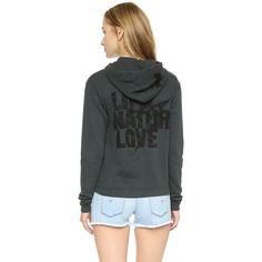 FREECITY LNL Lightning Sweatshirt ($200) ❤ liked on Polyvore featuring tops, hoodies, sweatshirts, blackmud, zip front hooded sweatshirt, hooded sweat shirt, graphic sweatshirts, long sleeve hooded sweatshirt e zip front sweatshirt