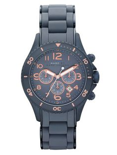 Marc by Marc Jacobs Watches Women's Round Blue Watch