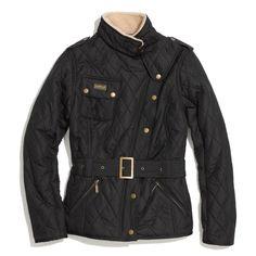 Barbour® Matlock Quilted Moto Jacket
