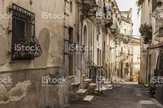 Pathway in Grottaglie royalty-free stock photo