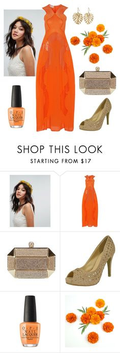 """""""70s Season"""" by chicastic ❤ liked on Polyvore featuring Rock 'N Rose, STELLA McCARTNEY, OPI and The Sak"""