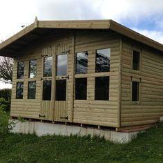 (ID.SUM.4A) 12 x 12 SUMMER HOUSE