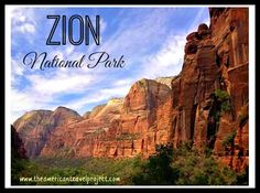 Zion National Park with kids! Different hikes and things to do with the kids.