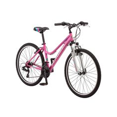 Women's Schwinn High Timber 26-Inch Mountain Bike, Lt Purple