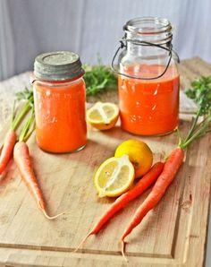Michelle Obama's carrot lemonade