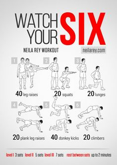 Watch Your Six Workout